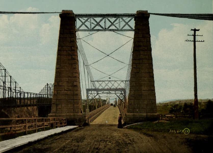 Souvenir of St. John N.B. - Entrance to Suspension Bridge (1910)