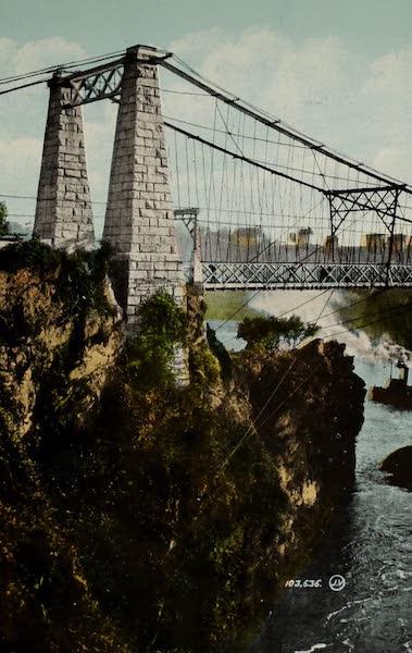 Souvenir of St. John N.B. - Suspension Bridge (1910)