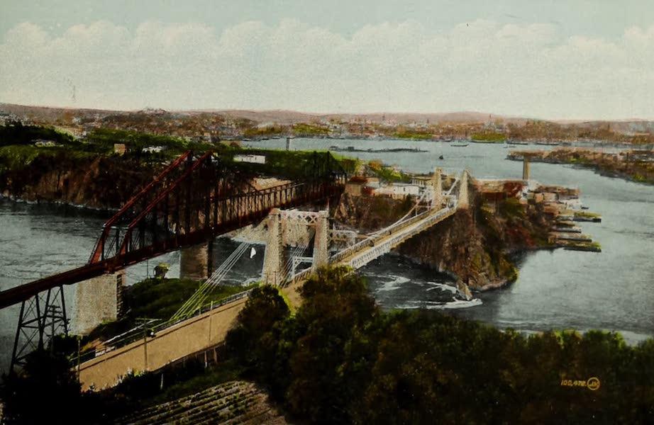 Souvenir of St. John N.B. - Bridges and Reversible Falls (1910)