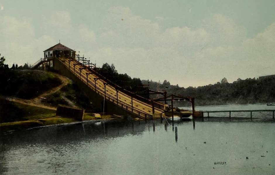 Souvenir of St. John N.B. - Shooting the Chutes, Rockwood Park (1910)