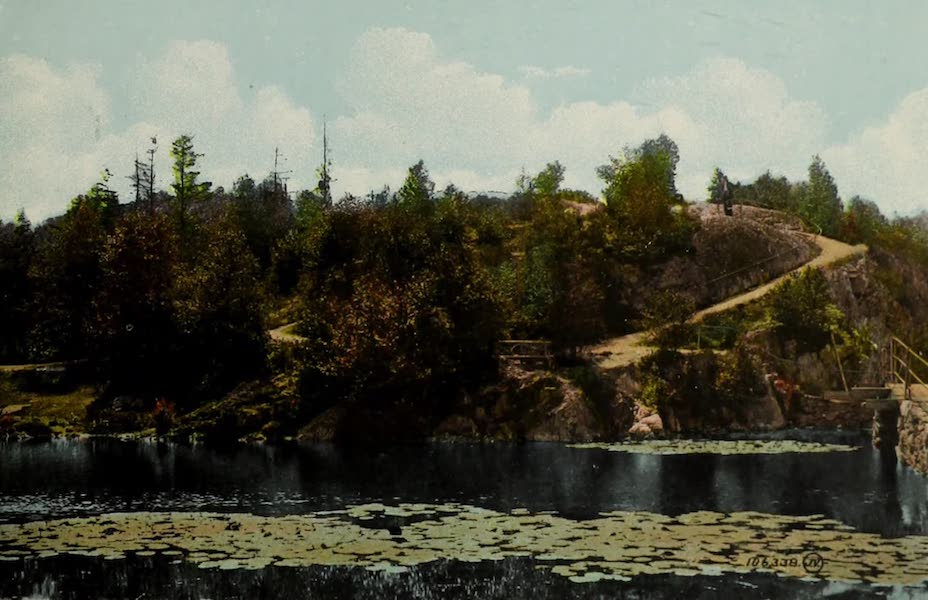 Souvenir of St. John N.B. - Mountain Road, Rockwood Park (1910)