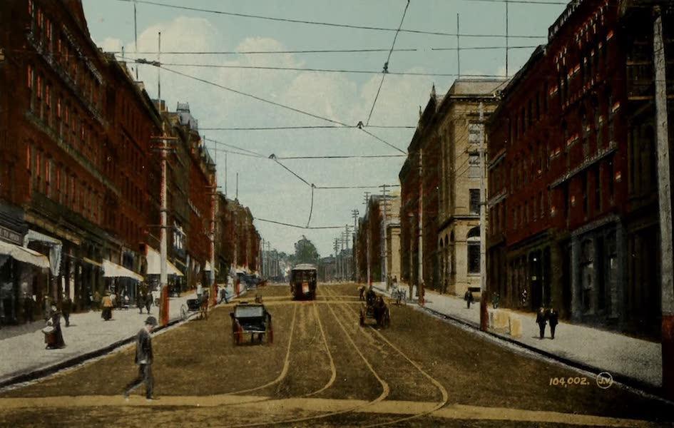 Souvenir of St. John N.B. - King Street (1910)