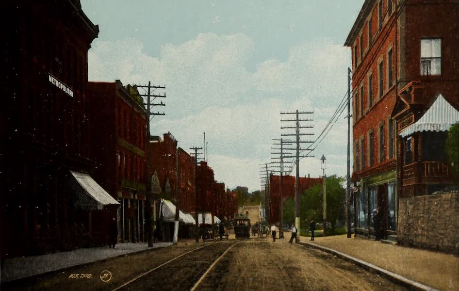 Souvenir of St. John N.B. - Charlotte Street looking North (1910)