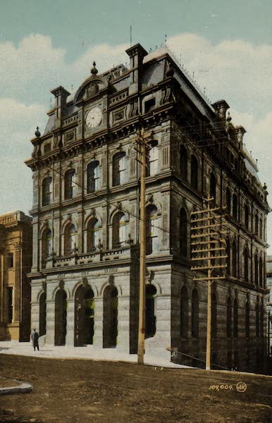 Souvenir of St. John N.B. - Post Office (1910)