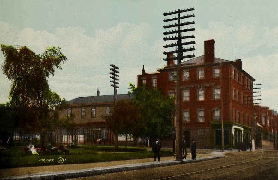 Souvenir of St. John N.B. - Dufferin Hotel, King Square (1910)