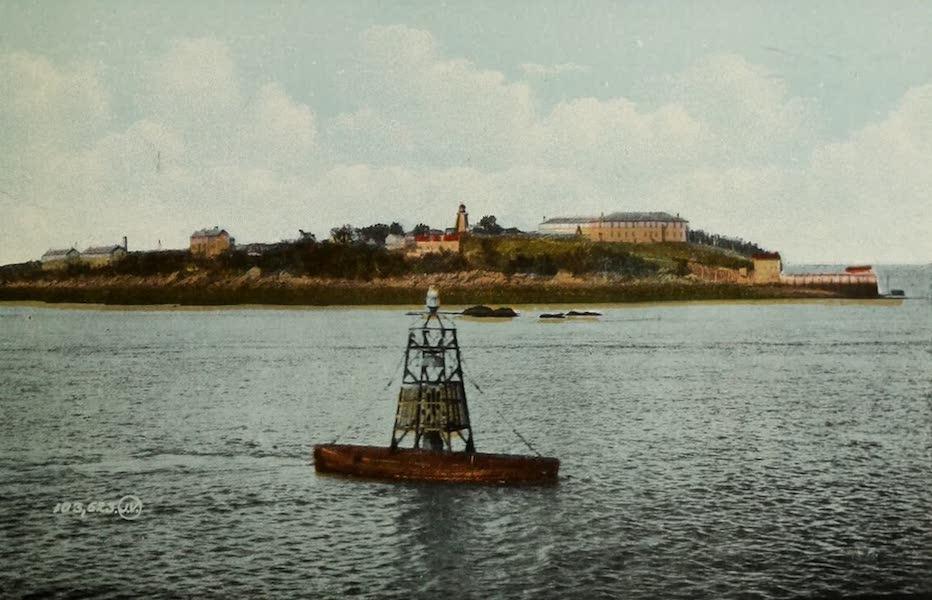 Souvenir of St. John N.B. - Partridge Island and Bell Buoy (1910)