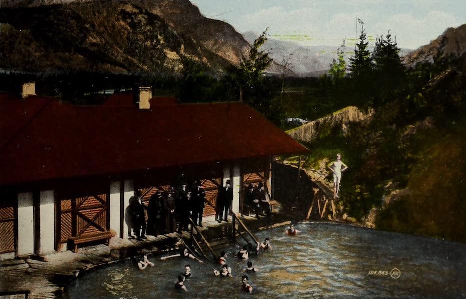 Souvenir of the Rockies [Canadian Rockies] - Sulphur Baths, Banff (1910)