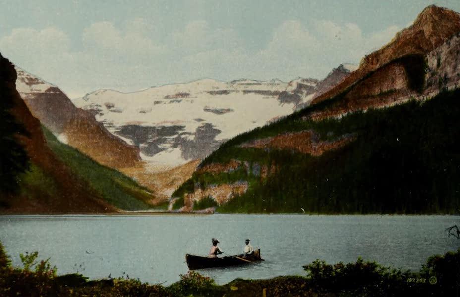 Souvenir of the Rockies [Canadian Rockies] - Lake Louise and Victoria Glacier, near Laggan (1910)