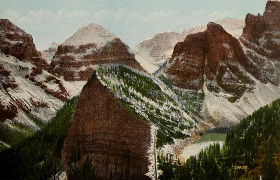 Souvenir of the Rockies [Canadian Rockies] - Castle Crags, Lefroy, Hazel, and Lake Agnes (1910)