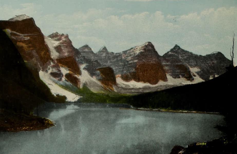 Souvenir of the Rockies [Canadian Rockies] - Moraine Lake, Valley of the Ten Peaks (1910)