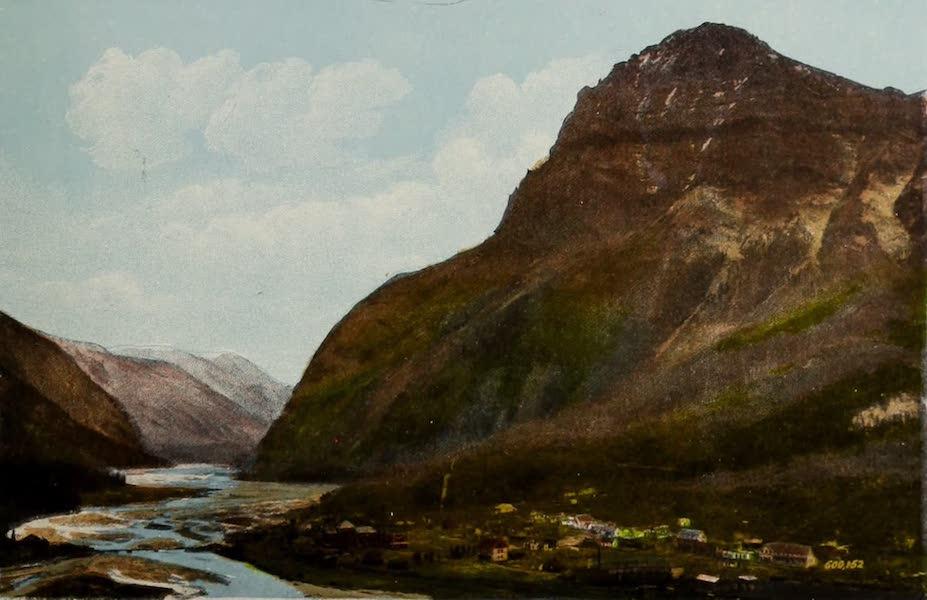 Souvenir of the Rockies [Canadian Rockies] - Field, B.C., and Mount Stephen (Alt. 10,523) (1910)