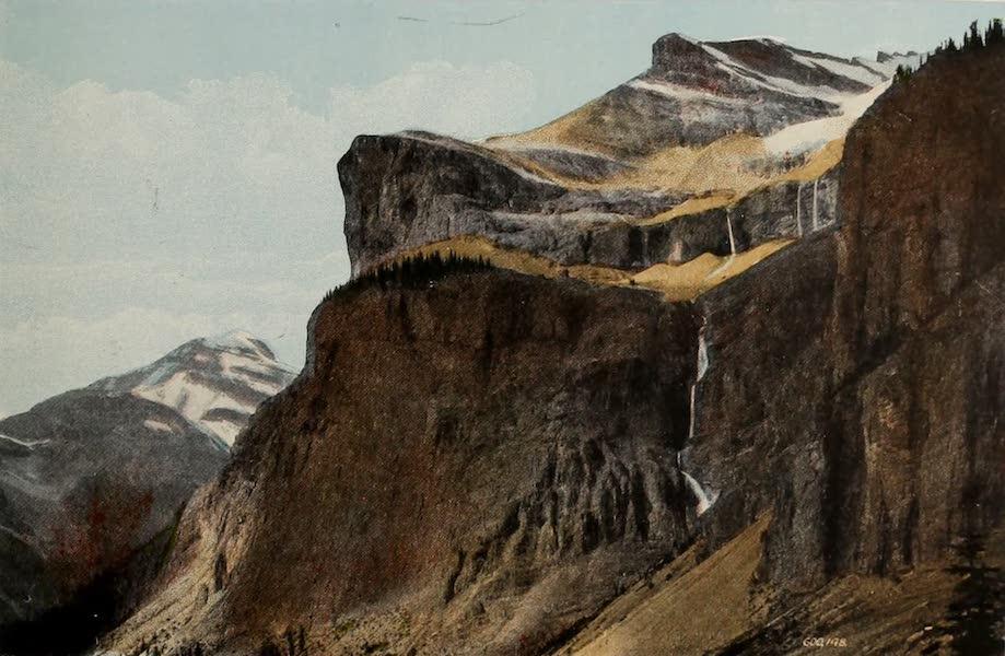 Souvenir of the Rockies [Canadian Rockies] - Emerald Peak and Cascade (1910)