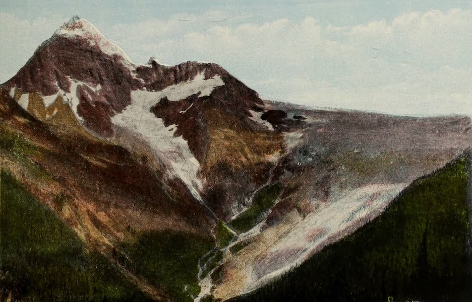 Souvenir of the Rockies [Canadian Rockies] - Sir Donald (Alt. 10,808) and Illecillewaet Glacier (1910)