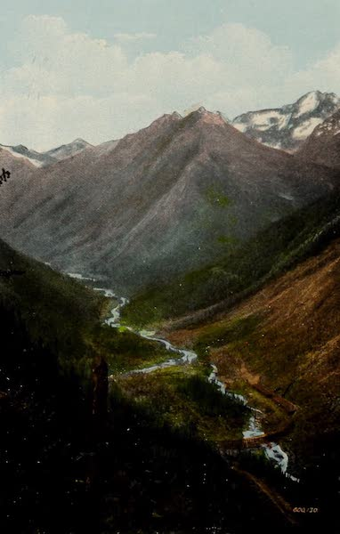 Souvenir of the Rockies [Canadian Rockies] - Illecillewaet Valley and Loop from Mt. Abbott (1910)