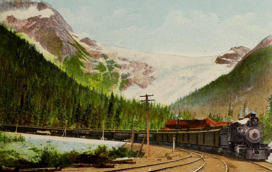 Souvenir of the Rockies [Canadian Rockies] - C.P.R. Train,
