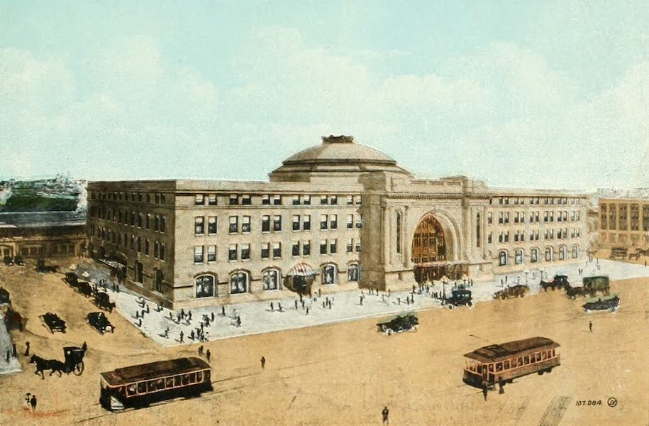 Souvenir of Winnipeg-Manitoba - The Union Street (1911)