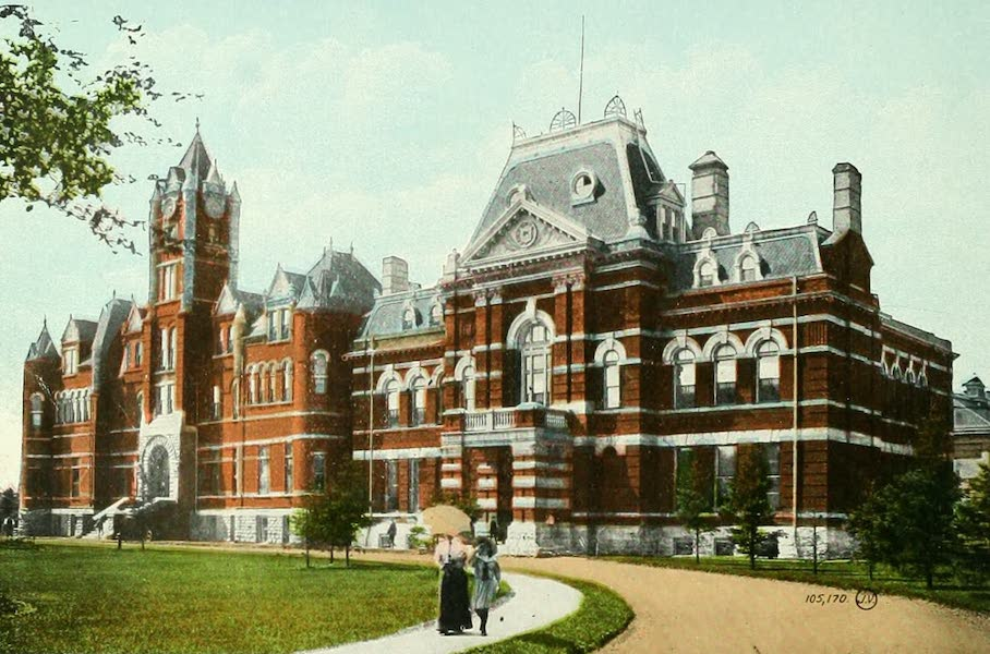 Souvenir of Winnipeg-Manitoba - Court House (1911)