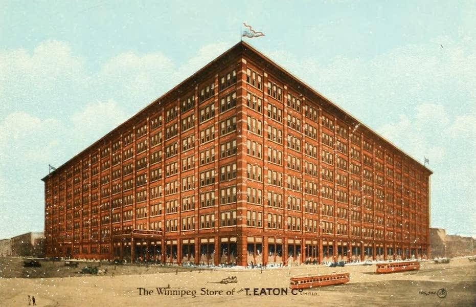 Souvenir of Winnipeg-Manitoba - The Winnipeg Store of the T. Eaton Co., Limited (1911)