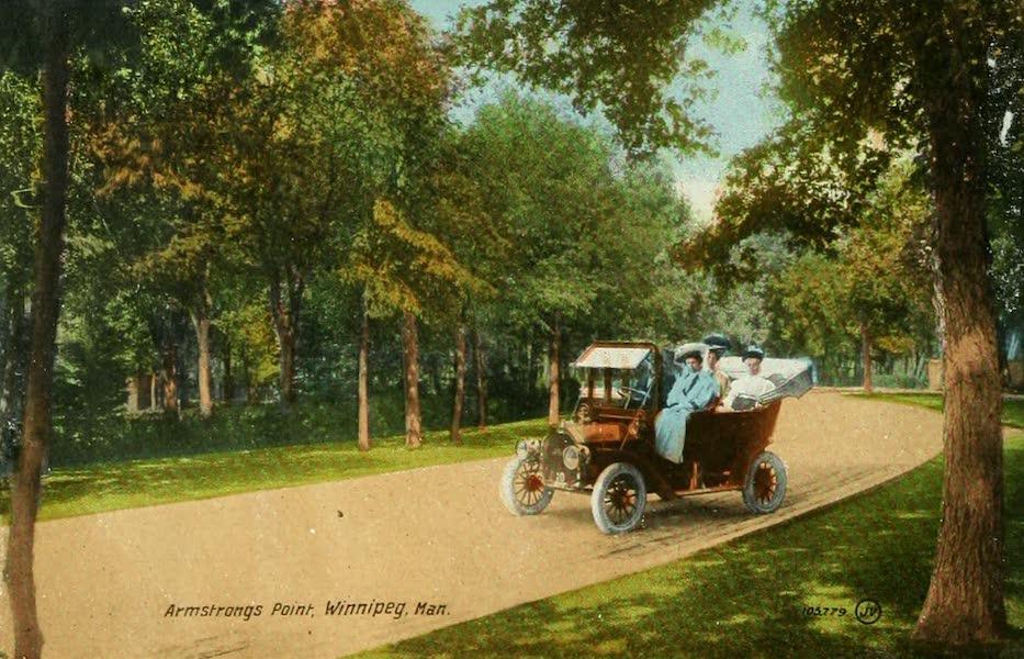 Souvenir of Winnipeg-Manitoba - Armstrong's Point (1911)