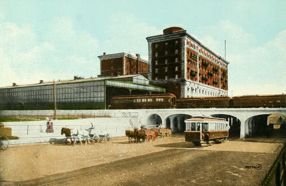 Souvenir of Winnipeg-Manitoba - Subway, Main Street North (1911)