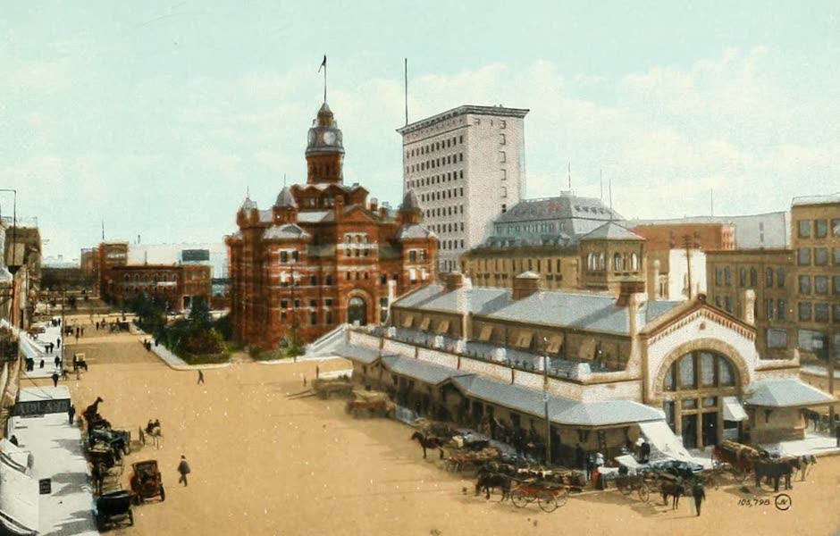 Souvenir of Winnipeg-Manitoba - Market Square (1911)