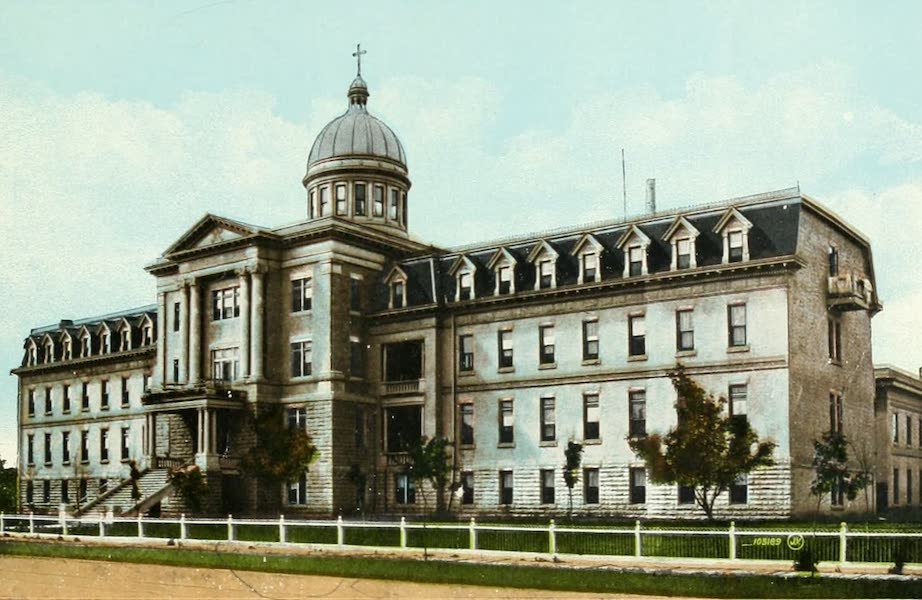 Souvenir of Winnipeg-Manitoba - Misericordia Hospital (1911)
