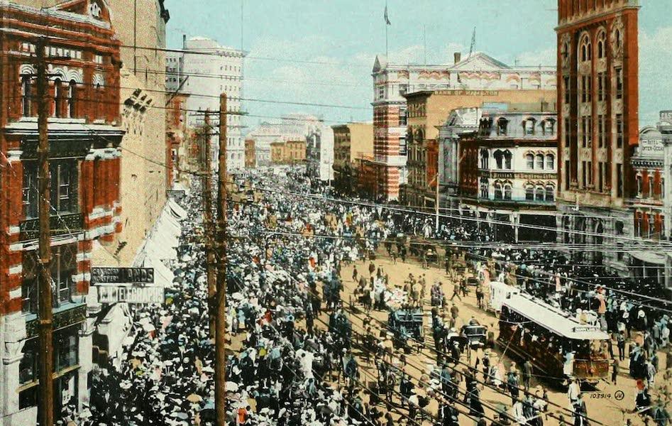 Souvenir of Winnipeg-Manitoba - Main Street (Labour Day) (1911)