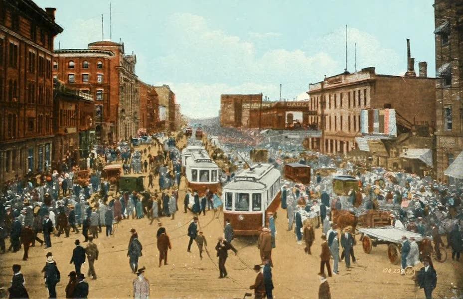 Souvenir of Winnipeg-Manitoba - Portage Avenue (1911)
