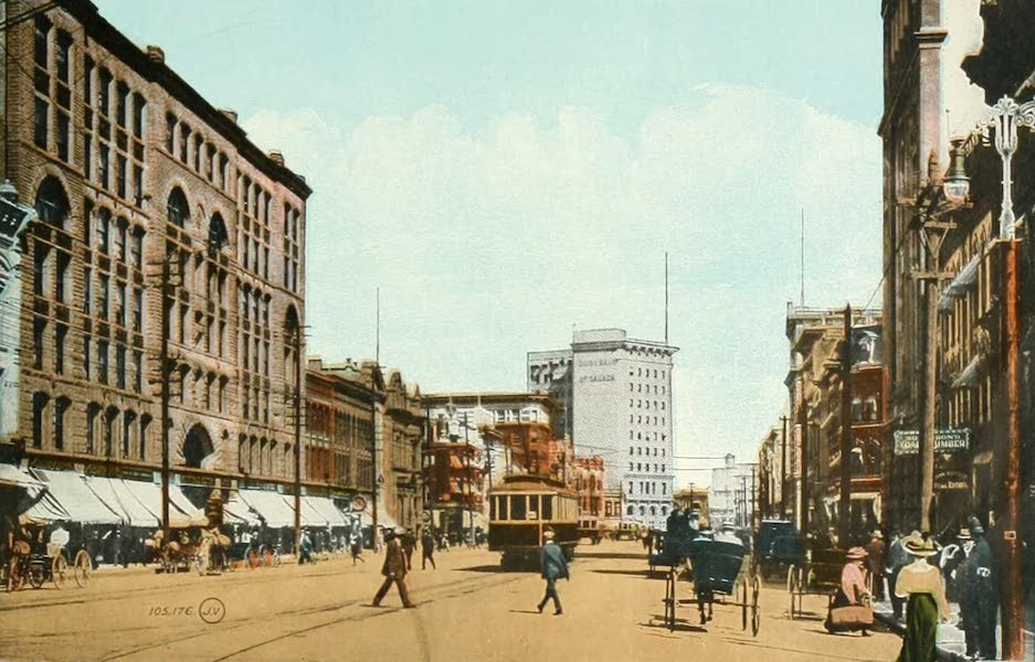 Souvenir of Winnipeg-Manitoba - Main Street (1911)