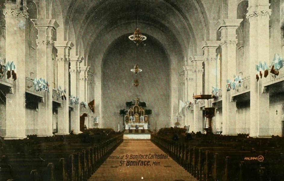 Souvenir of Winnipeg-Manitoba - Interior of St. Boniface Cathedral (1911)