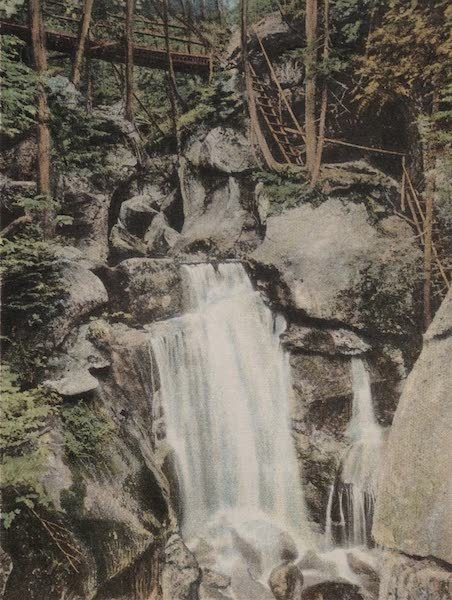 Souvenir View Book of the White Mountains - Paradise Falls, Lost River (1923)