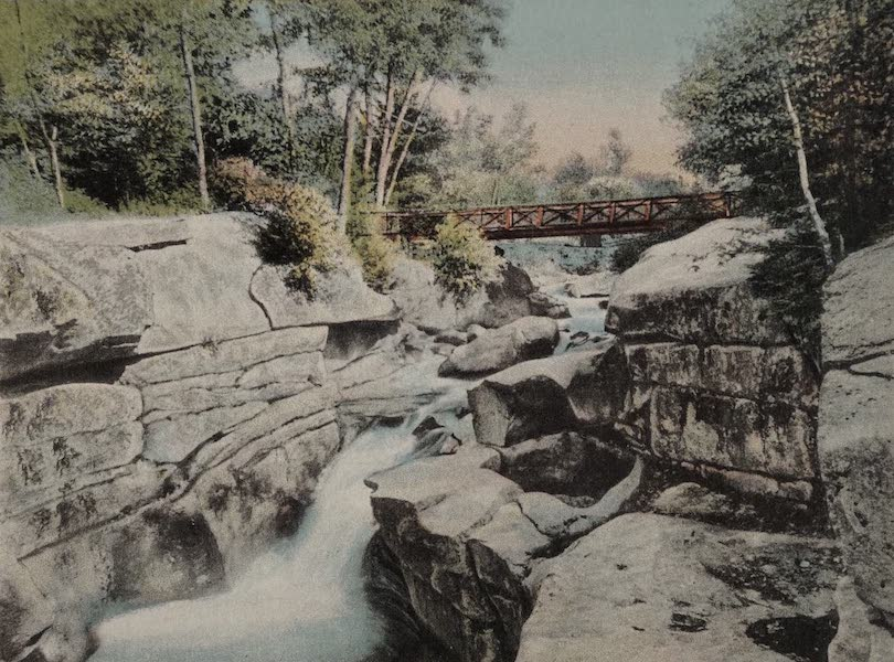 Upper Falls of the Ammonoosuc, Bretton Woods