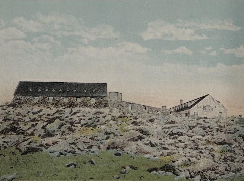 Souvenir View Book of the White Mountains - Summit of Mt. Washington (1923)