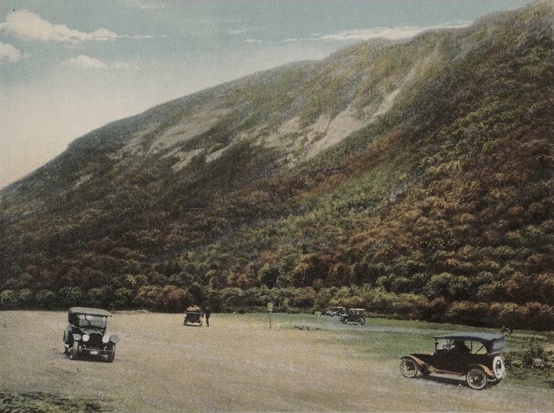 Souvenir View Book of the White Mountains - Mt. Webster and Willey House Free Camp Grounds, Crawford Notch (1923)