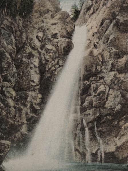 Souvenir View Book of the White Mountains - Glen Ellis Falls (1923)