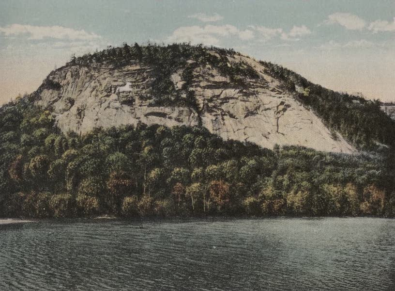 Souvenir View Book of the White Mountains - White House Ledge and Echo Lake, North Conway (1923)