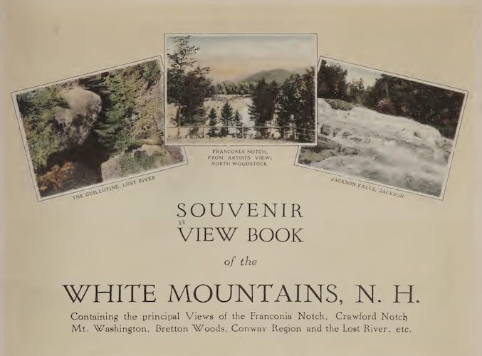 Natural History - Souvenir View Book of the White Mountains