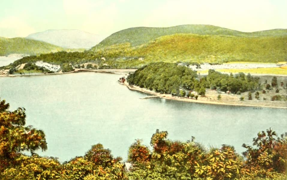 Souvenir Views of the Hudson River Vol. 2 - N.Y. State Camp at Peepskill (1909)