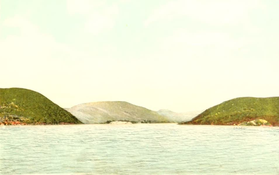 Souvenir Views of the Hudson River Vol. 2 - Entering the Hudson Highlands (1909)