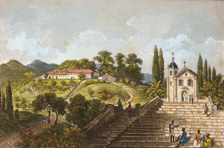 Souvenirs de Rio de Janeiro - St. Joao de Carachy, a Praya Grande (1835)
