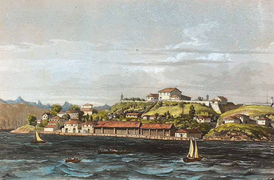 Souvenirs de Rio de Janeiro - Ilha das Corbas (1835)
