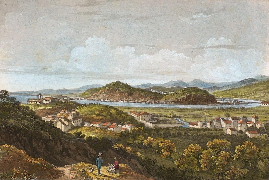Souvenirs de Rio de Janeiro - Vista do Sacco d'Alferes & de St. Cristovao (1835)