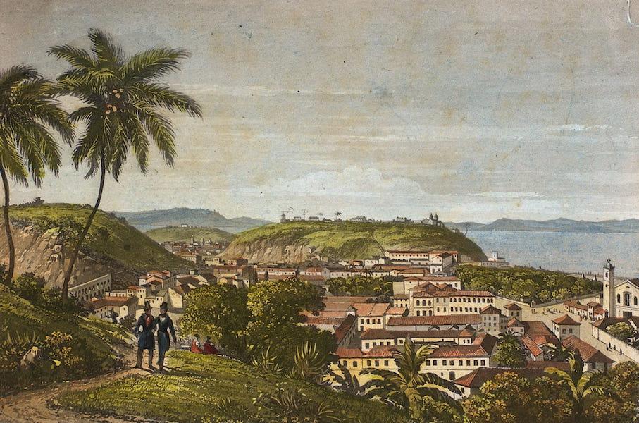 Souvenirs de Rio de Janeiro - Vista Tomada de St. Thereza (1835)