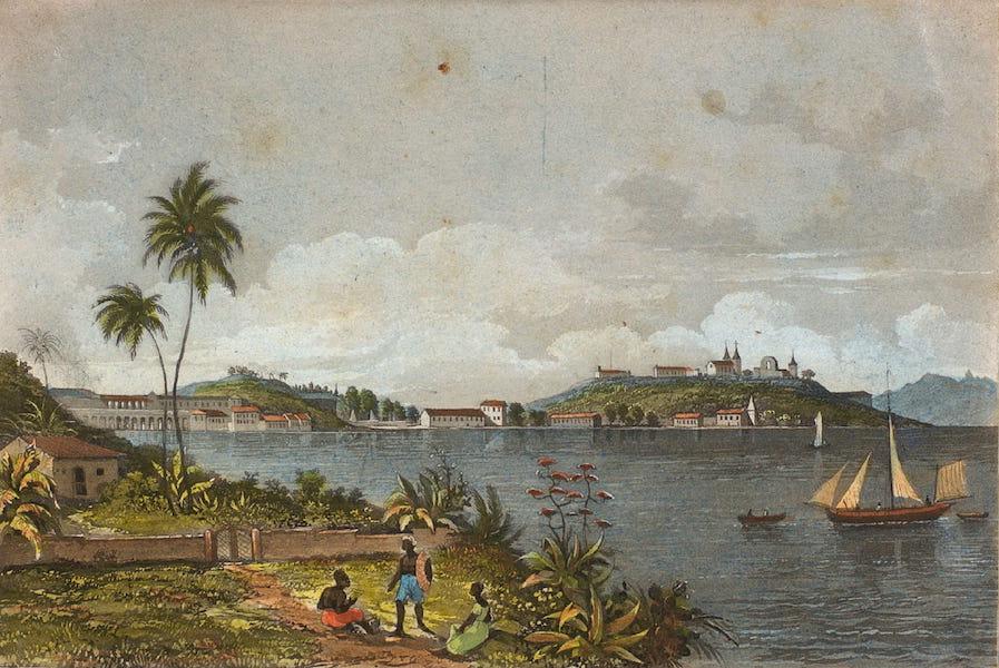 Souvenirs de Rio de Janeiro - Moro do Castello & da Praya d'Ajuda (1835)