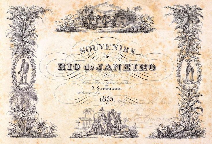 Souvenirs de Rio de Janeiro (1835)