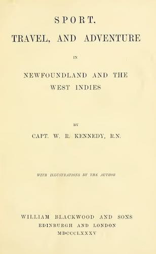 Hunting - Sport, Travel, and Adventure in Newfoundland and the West Indies