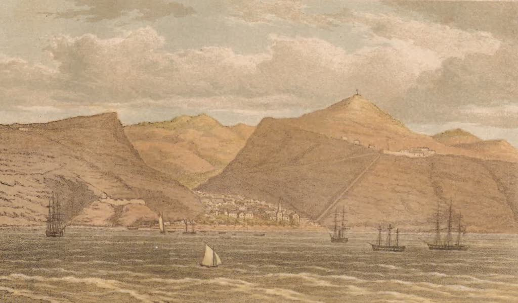 St. Helena: A Description of the Island - St. Helena from the Anchorage (1875)