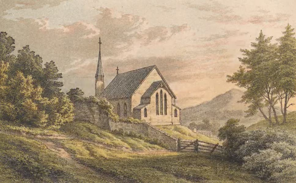 St. Helena: A Description of the Island - St. Matthew's Church, Longwood (1875)