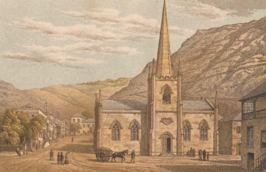 St. Helena: A Description of the Island - Jamestown, St. James Church (1875)