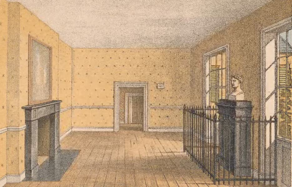 St. Helena: A Description of the Island - The Room in Which Napoleon Died at Longwood (1875)